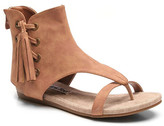 Two Lips Too Christa Flat Fringe Sandal