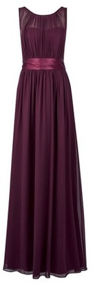 Dorothy Perkins Womens Showcase Tall Oxblood 'Natalie' Maxi Dress