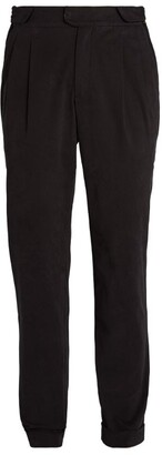 Sease Cotton Pleated Trousers