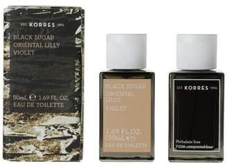 Korres Black Sugar Eau De Toilette 50Ml