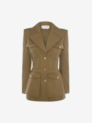 Alexander McQueen Military Jacket