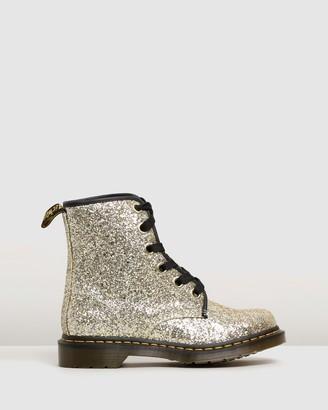 Dr. Martens Womens 1460 Farrah Chunky Glitter Boots