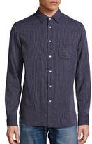 Rag & Bone Striped Beach Shirt
