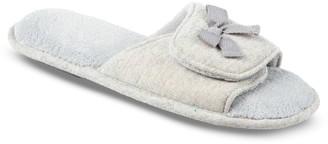 Isotoner Women's Adela Memory-Foam Slide Slippers