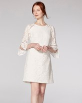 Vince Camuto Lace Bell-sleeve Dress