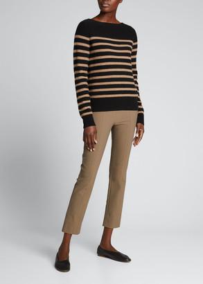 Vince Breton Striped Cashmere Boat-Neck Sweater