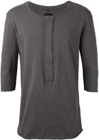 Thom Krom - Henley T-shirt - men - Cotton - XS