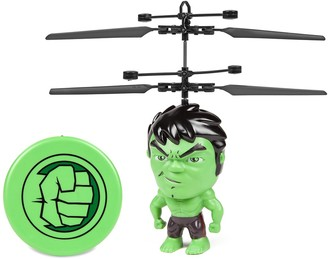 "World Tech Toys Marvel 3.5"" Hulk Flying Figure IR Helicopter"