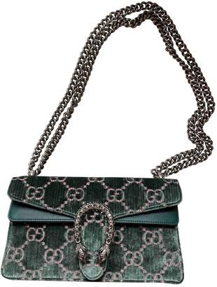 Gucci Dionysus Green Velvet Handbags