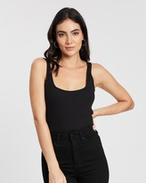 Supre Billie Fitted Rib Tank Top