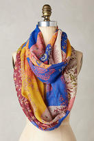 Anthropologie Flower Market Infinity Scarf