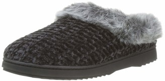 Dearfoams Women's Chenille Knit Clog Low-Top Slippers