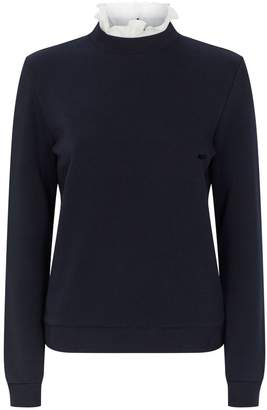 Claudie Pierlot Victorian Collar Sweatshirt