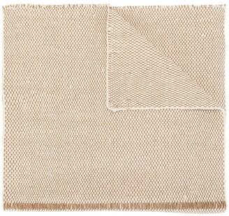Voz Lineas woven shawl