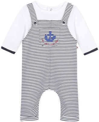 Absorba Striped Cotton All-in-One, 3 Months-18 Months