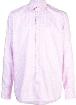 Eton plaid print shirt