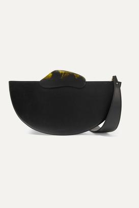 NATURAE SACRA Ottava Leather And Resin Tote - Black