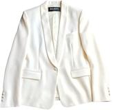 Balmain Beige Wool Jacket
