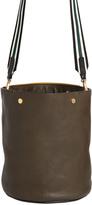 Marni Medium Grained Leather Bucket Bag