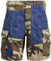 Polo Ralph Lauren Relaxed Fit Patchwork Short