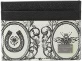 Dolce & Gabbana Bee Printed Cardholder Credit card Wallet