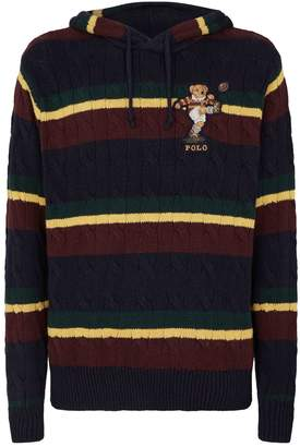 Polo Ralph Lauren Rugby Bear Knitted Hoodie