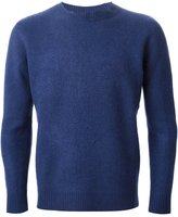 The Elder Statesman Cashmere Blend Felt Sweater