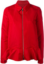Moncler Gamme Rouge zipped jacket - women - Silk/Polyester - 1
