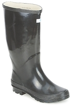 Wedge Welly MISS PREDICTABLE WIDE FIT BLACK