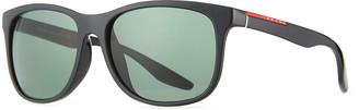 Prada Men's Square Propionate Asian-Fit Sunglasses