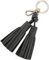 Kate Spade Double Leather Tassel Keychain Charm