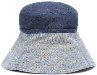 Lola Hats Cuffed denim bucket hat