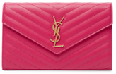 Classic Monogram Small Leather Chain Wallet