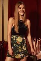 Urban Outfitters Sara Floral Mini Wrap Skirt