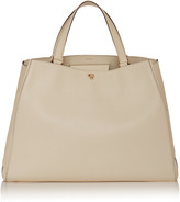 Valextra Brera Large Grain Leather Tote