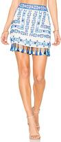Rococo Sand Fringe Mini Skirt