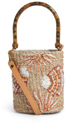 Aranaz Mini Embellished Tara Bucket Bag