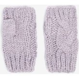 Dorothy Perkins Womens Lilac Fingerless Gloves- Purple
