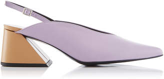 YUUL YIE Exclusive Slingback Leather Pumps