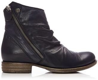 Moda In Pelle Annika Navy Leather