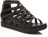 Eileen Fisher Airy Caged Open Toe Platform Wedge Sandals