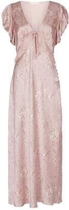 LoveShackFancy Lillian Floral Ruffle Dress