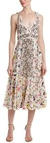 Rebecca Taylor Women's Sleeve Tap Garden Cami Dress