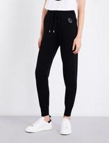 Markus Lupfer Sequin-embellished Planet merino wool jogging bottoms