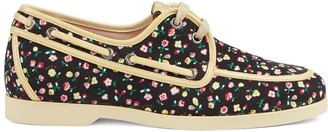 Gucci Women's Liberty floral boat shoe