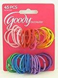 Goody Girls Oucless 2MM Hair Elastics - 45 Pcs.