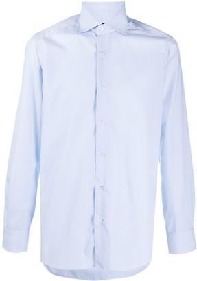 Barba Spread Collar Long-Sleeved Shirt