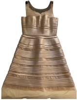 BCBGMAXAZRIA Beige Dress for Women