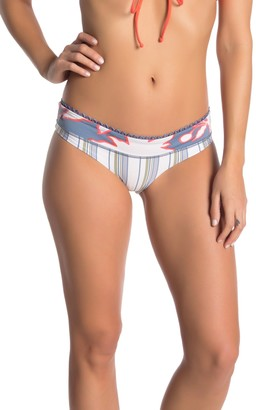 Maaji Silver Bumpy Roads Reversible Bikini Bottoms