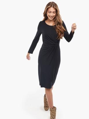 ABLE Srishti Knot Front Dress
